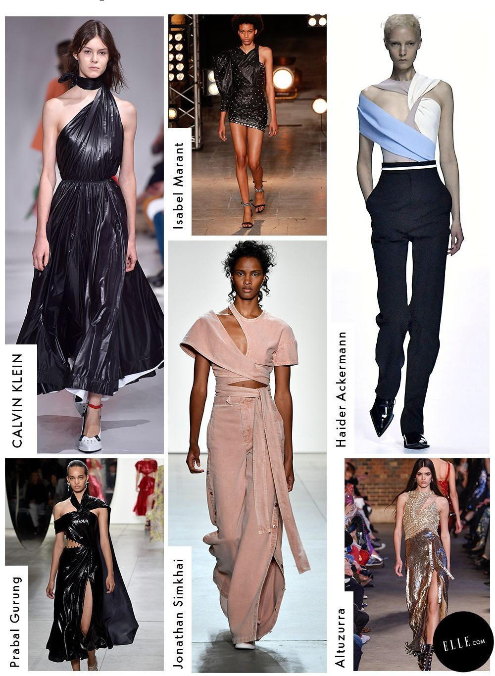spring/summer trend fashion runway