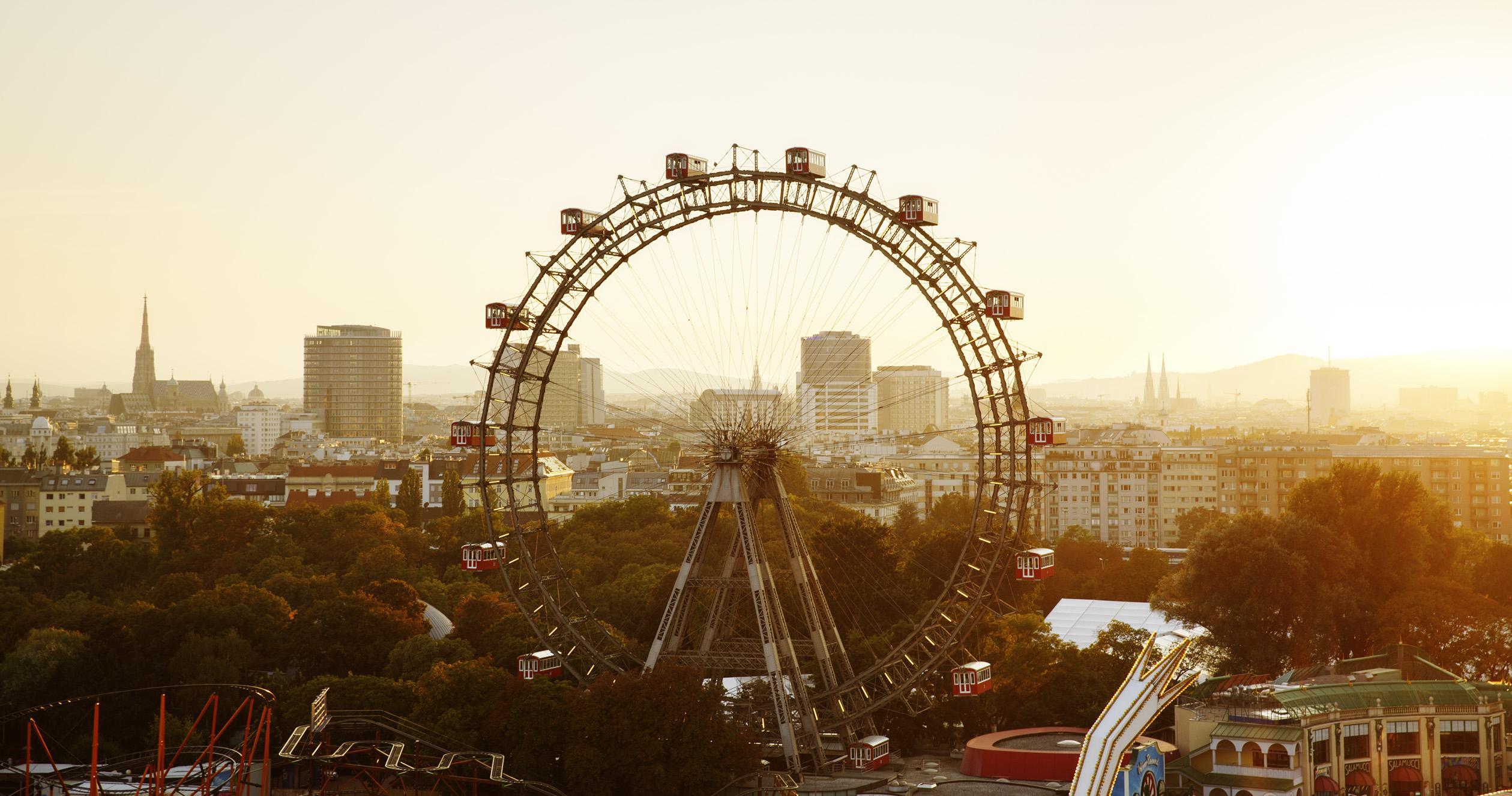 Outlandish blog traveling Vienna Austria Prater amusement park