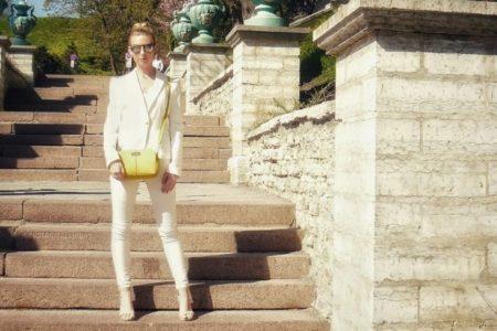 trendiest colour yellow handbag accessory