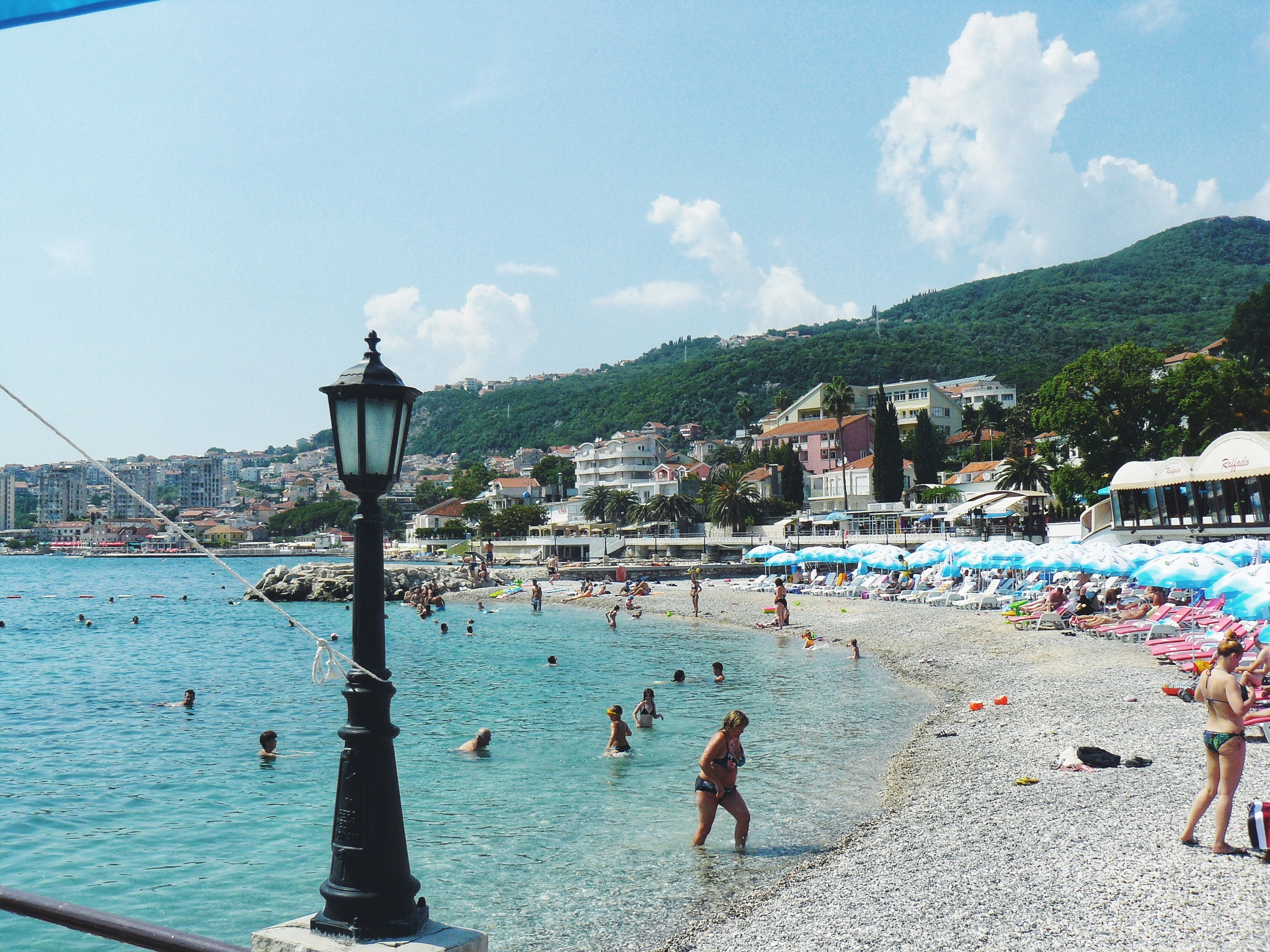 Outlandish blog travel holiday Montenegro beach road trip
