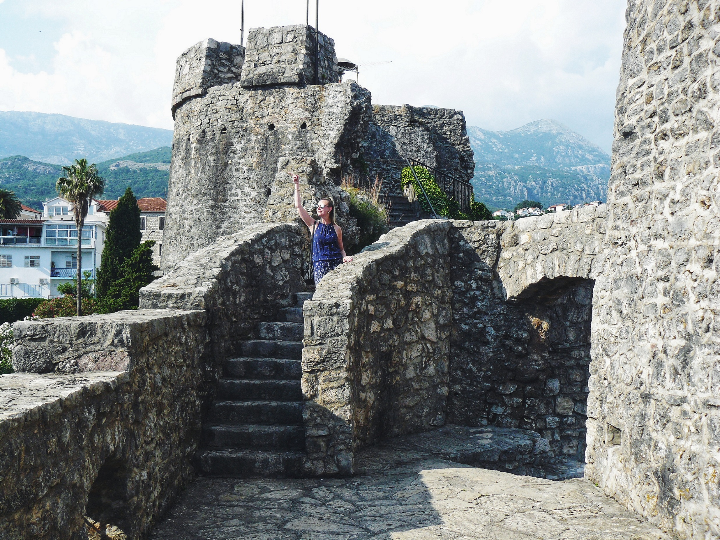 Road Trip To Montenegro Herceg Novi Kanli Kula Fortress