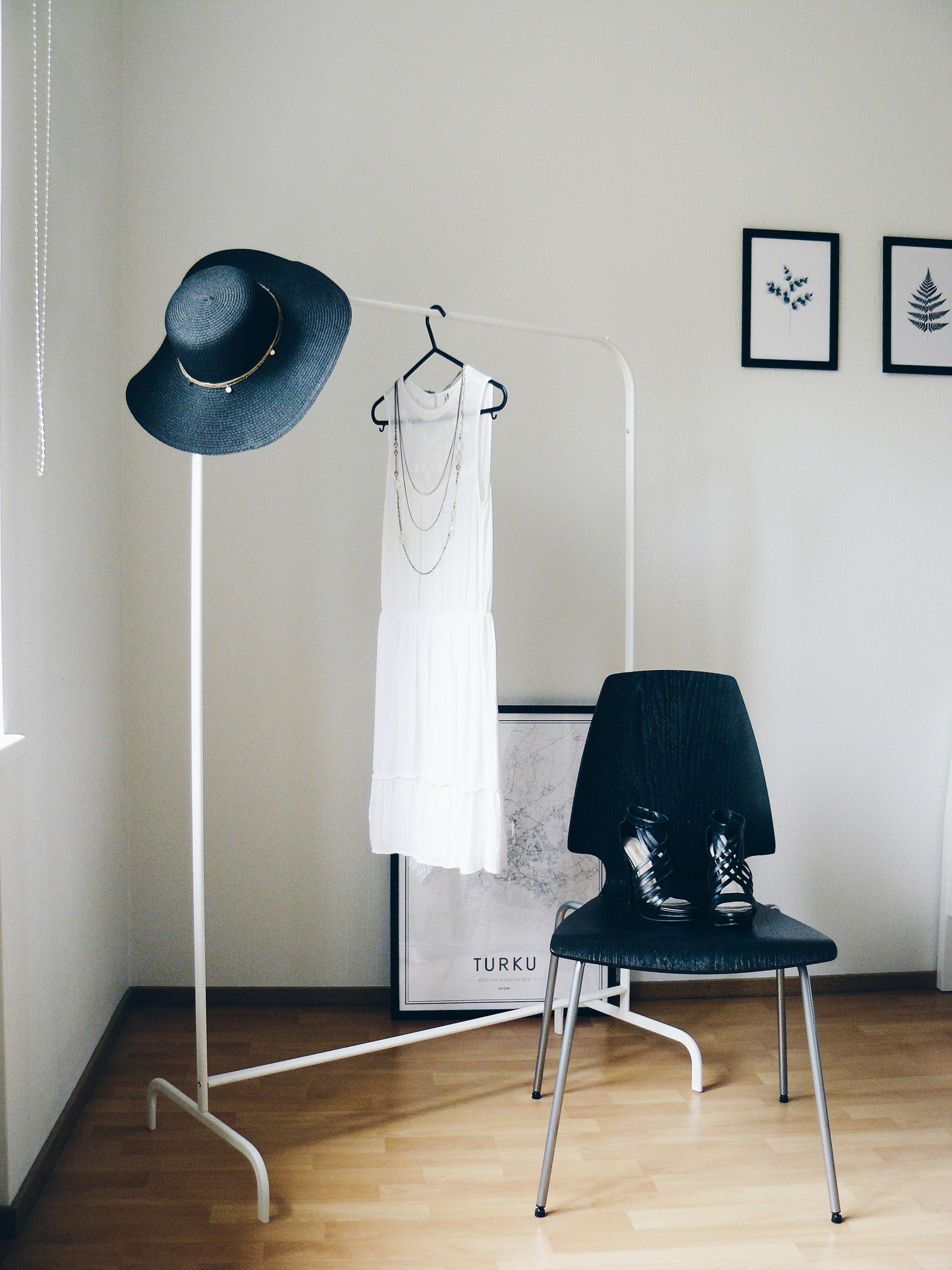 Outlandish blog outfit inspiration straw hat summer essentials