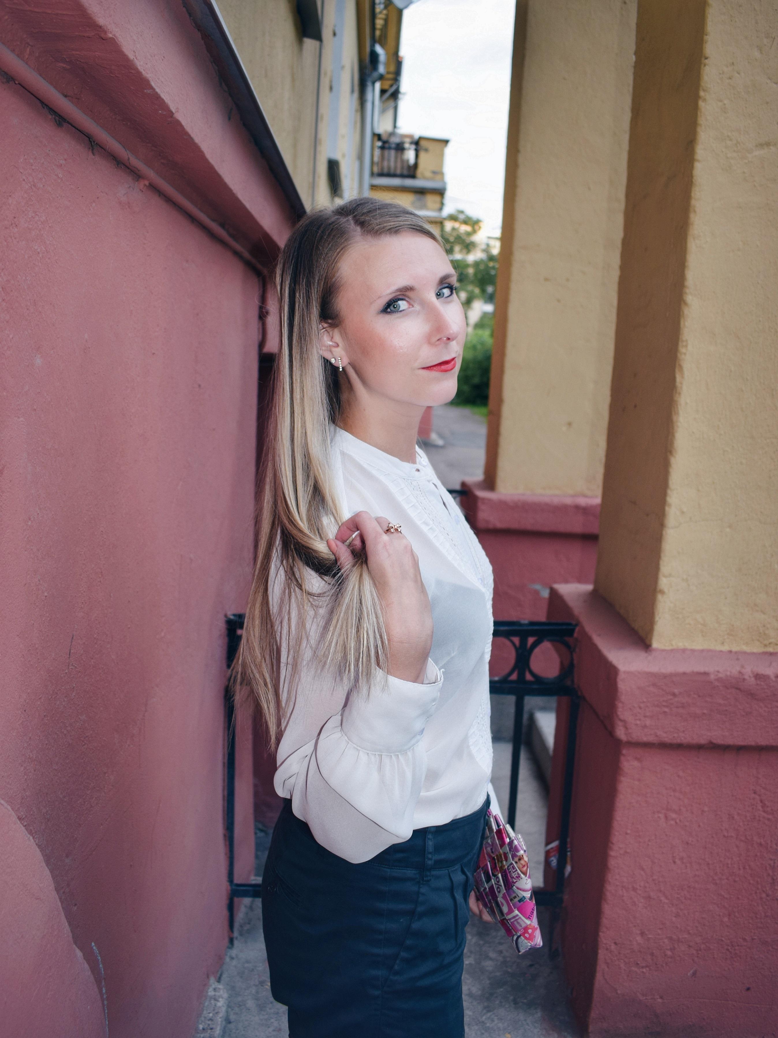Outlandish blog style up shorts fashion trend sustainability