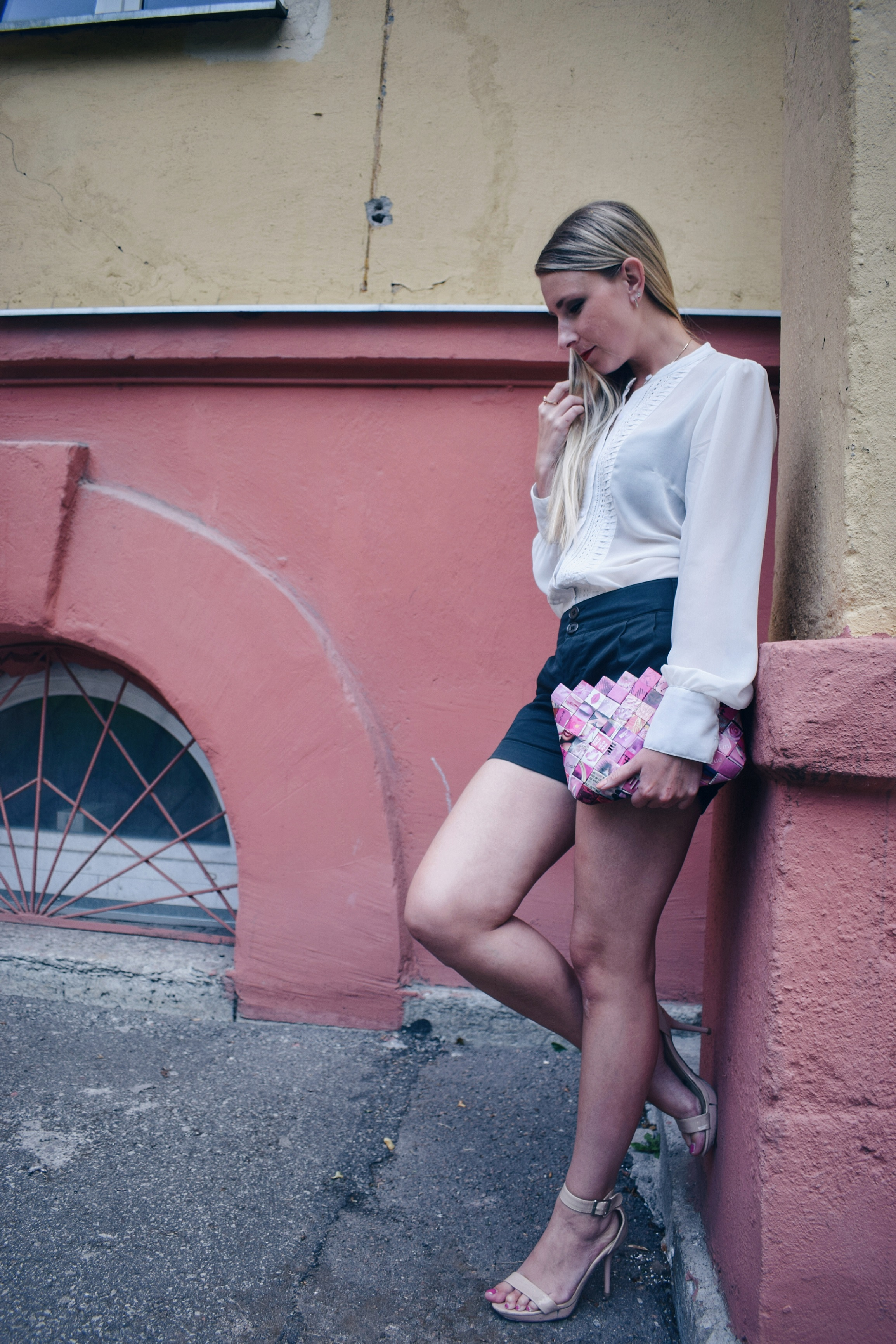 Outlandish blog style up shorts fashion trend sustainability