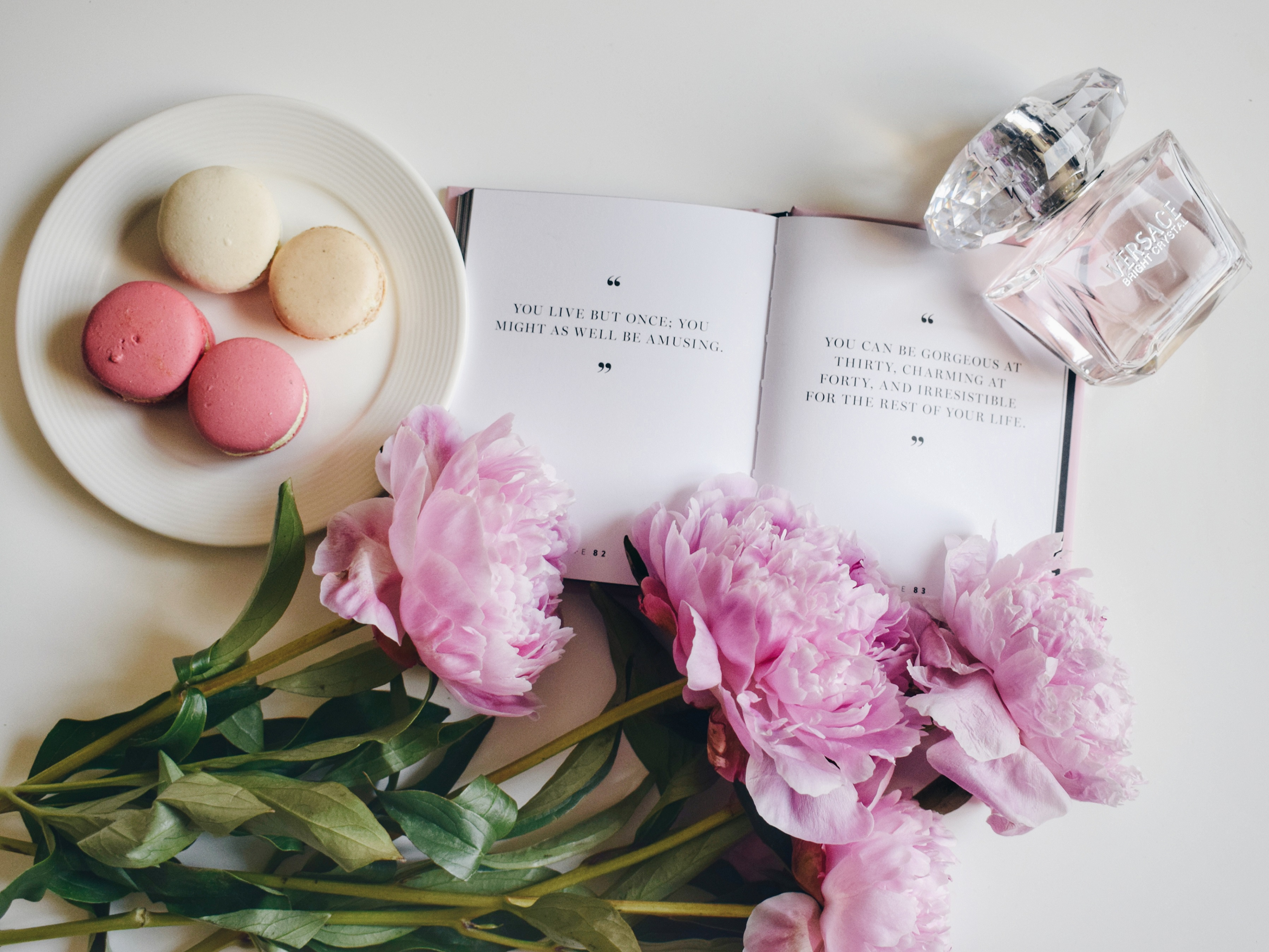 Outlandish blog things inspire inspiration peonies quote perfume