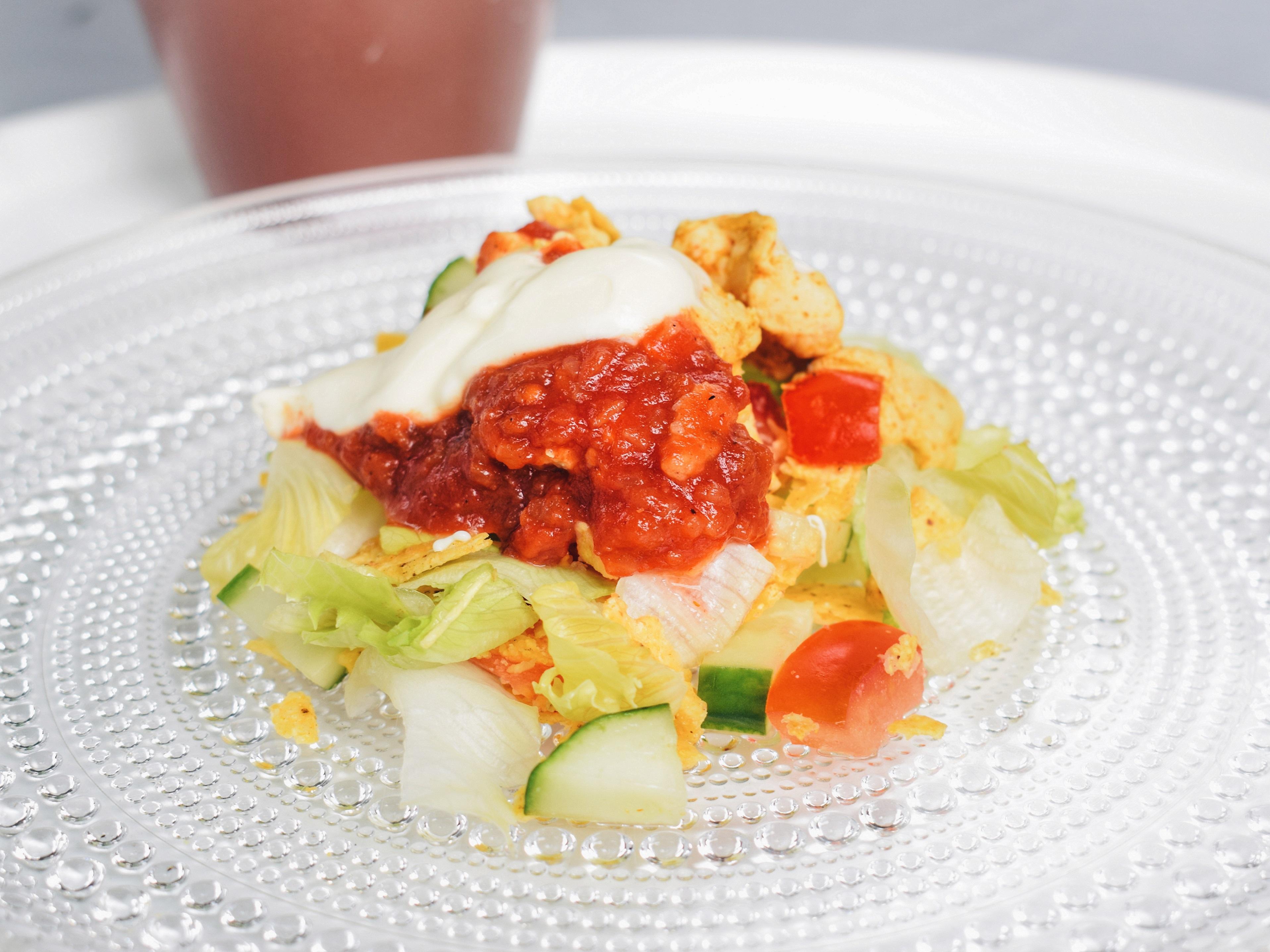Outlandish blog photography challenge regrets food chicken salad