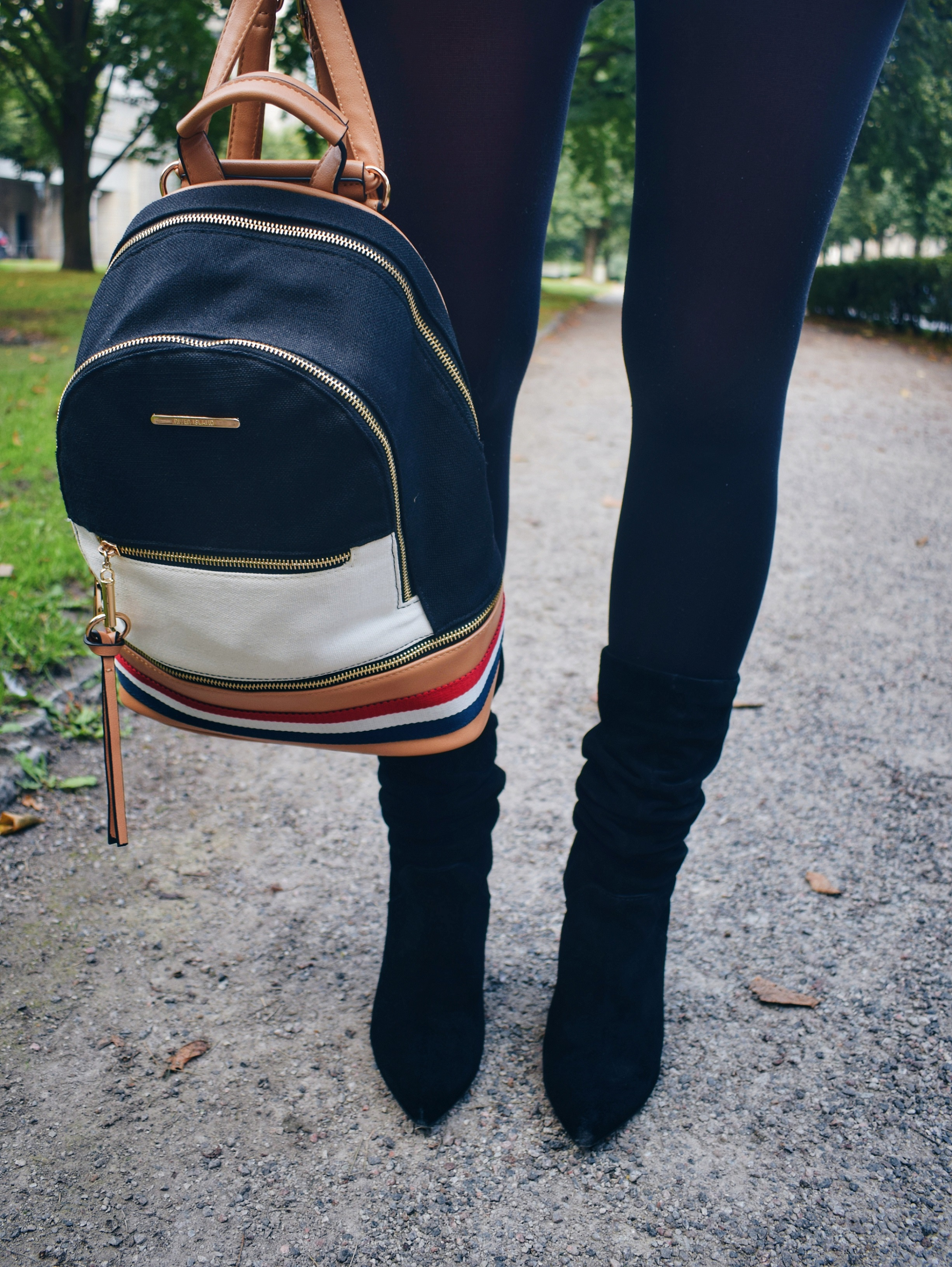 Outlandish blog Autumn favourite outfit inspiration style trend backpack