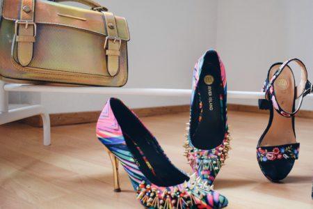 Outlandish blog River Island fashion campaign #labelsareforclothes high heels clothes