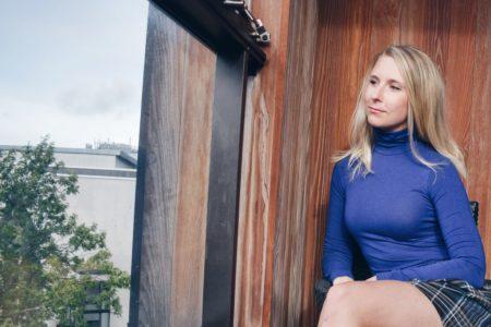 Outlandish blog story name modelling style fashion trend checkered skirt