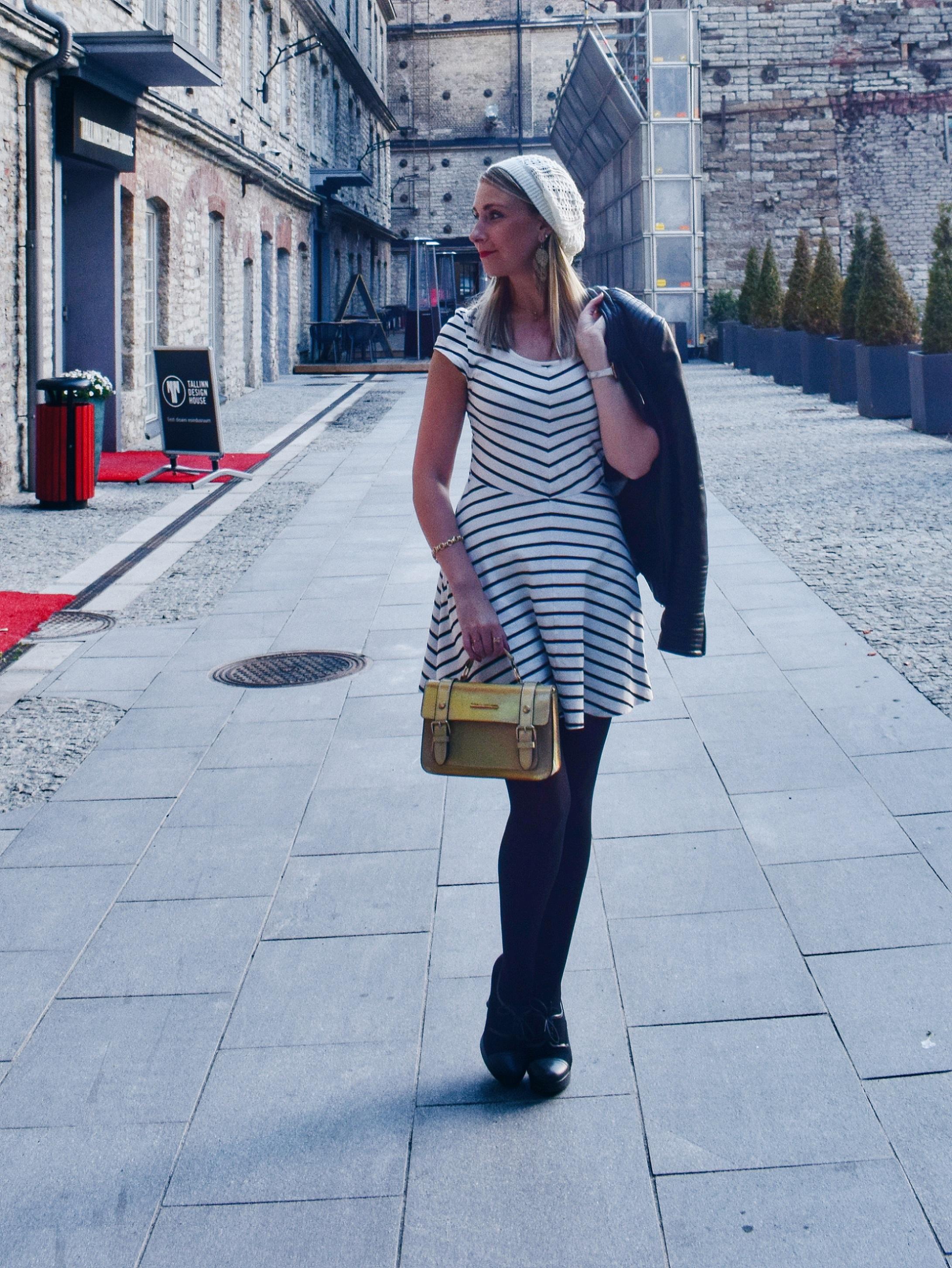 Outlandish blog make friends adult relationships advice Autumn outfit dress high heels hat