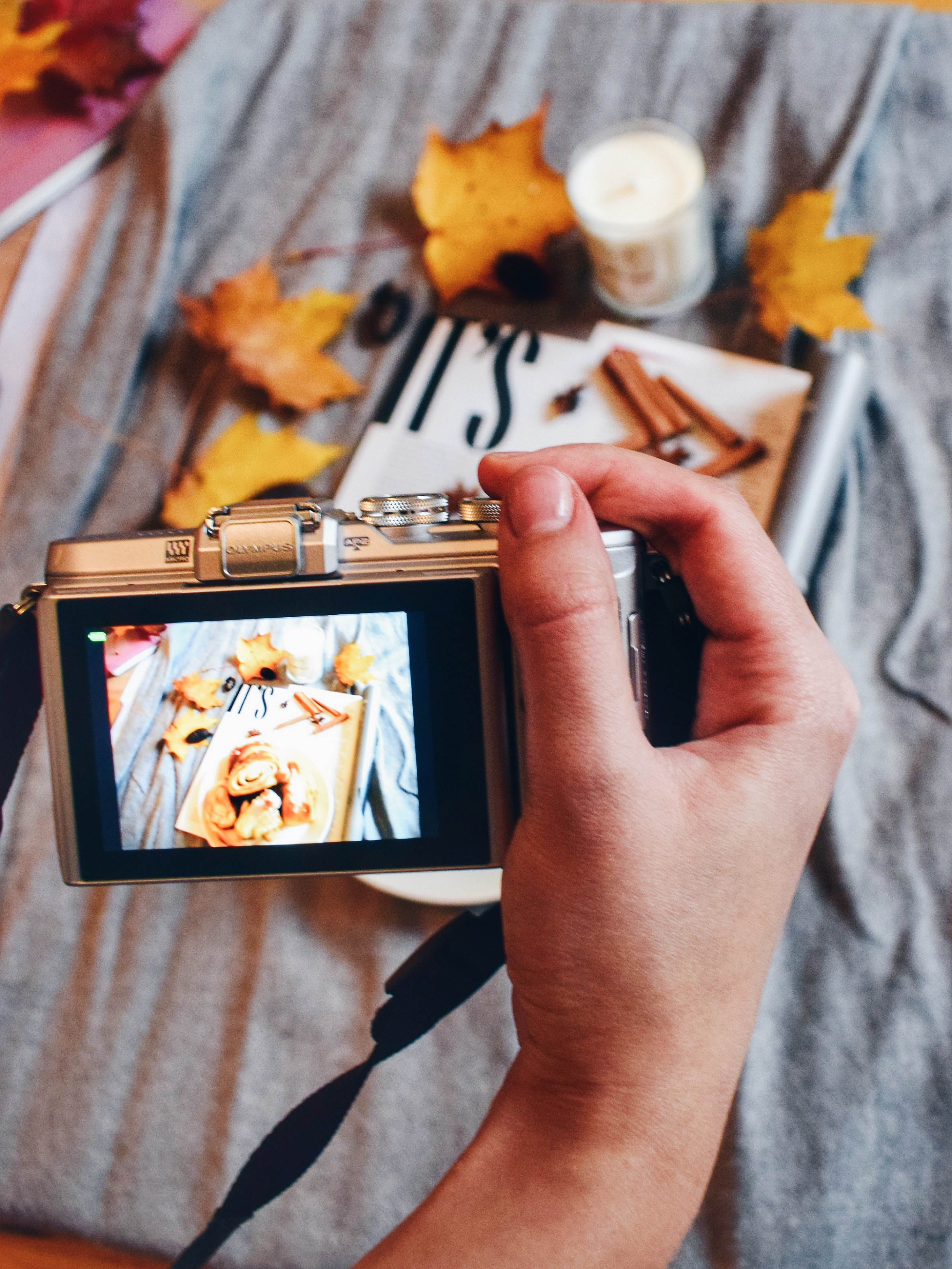 Outlandish blog Instagram challenge how grow followers week flat lay photography blogging