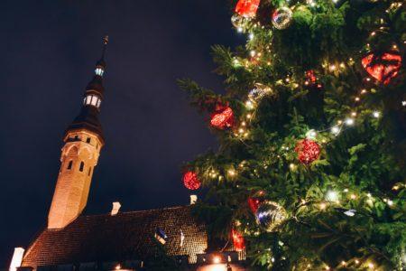December photography challenge Christmas tree