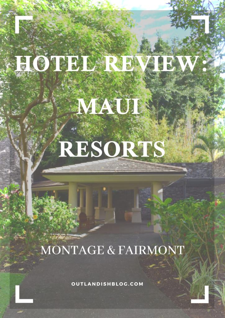 Hotel reviews Maui Hawaii