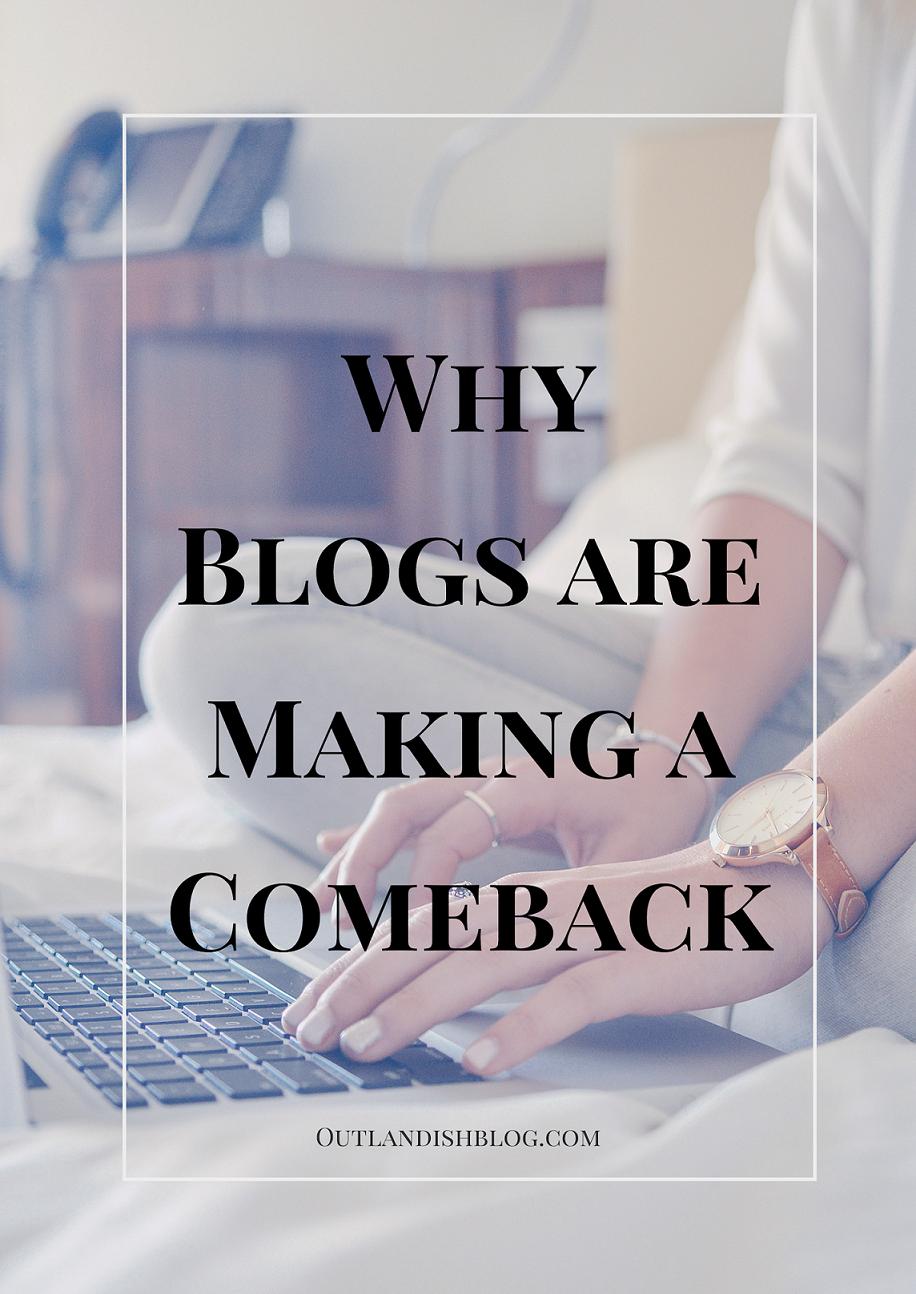 blog year blogging makes comeback