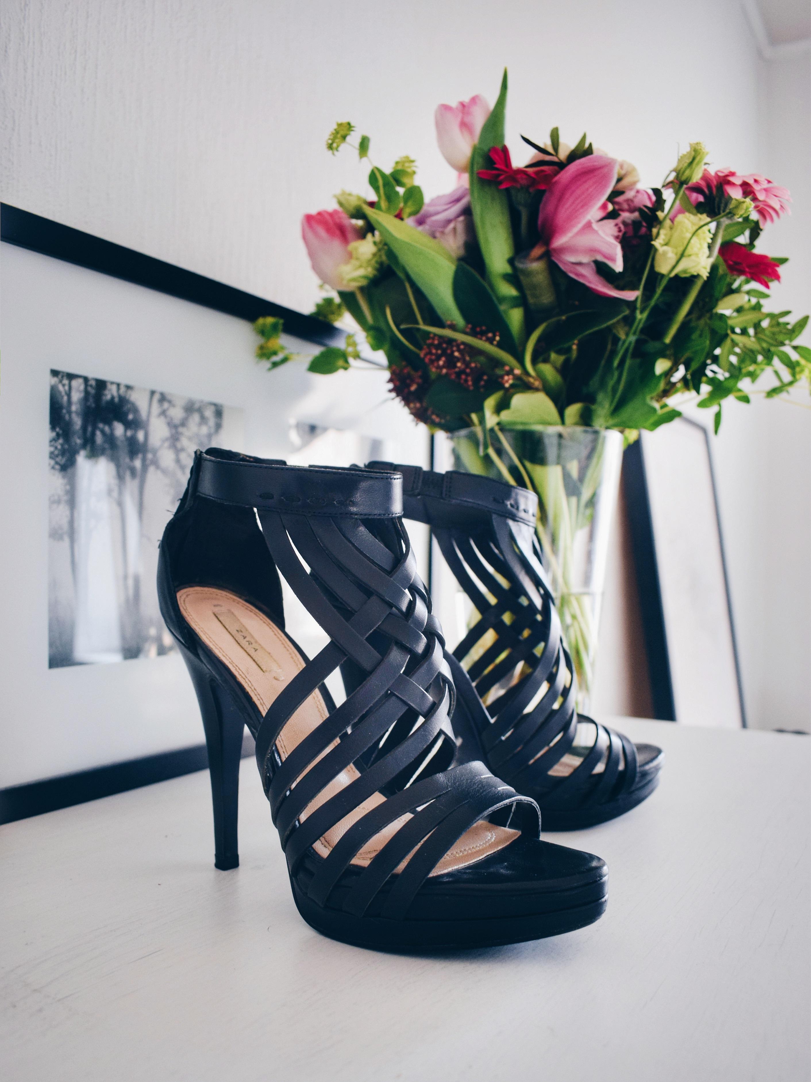spring trend platform high heels