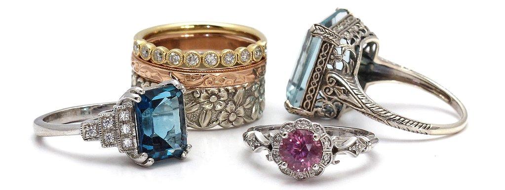 Trenst Vintage Engagement Rings For