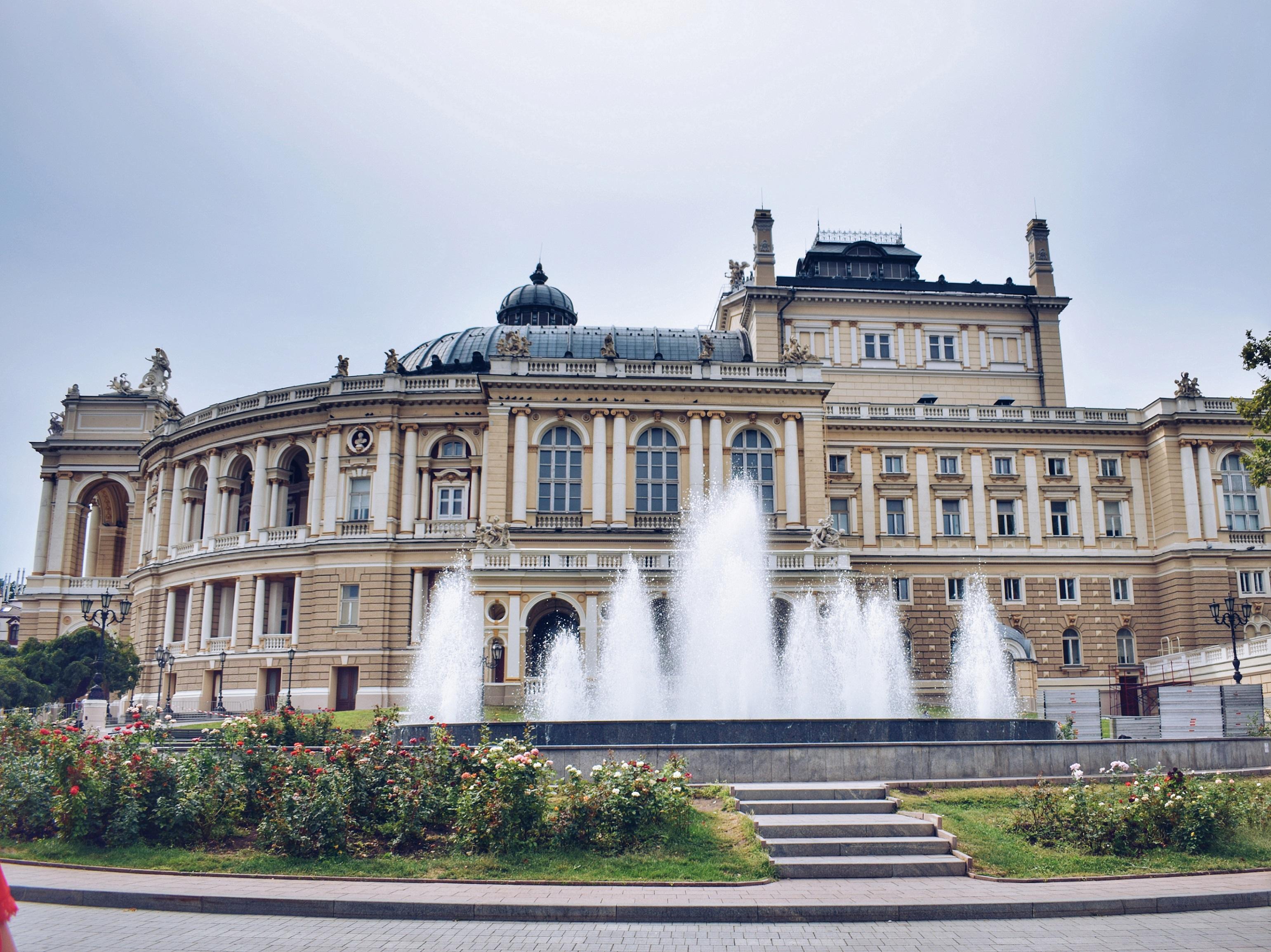 Travel Itinerary Odessa Ukraine